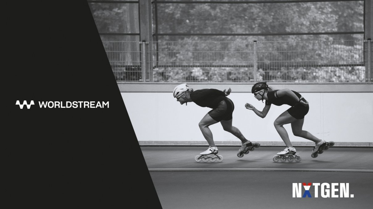 Worldstream 1st Sponsor of NXTGEN. - The Newly Founded Dutch Speed Skating Team of Jutta Leerdam and Koen Verweij