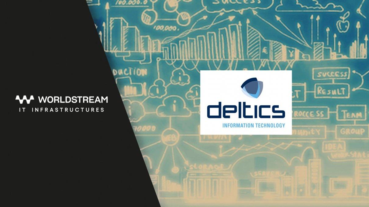 Case study: Worldstream Elastic Network empowers Deltics solutions